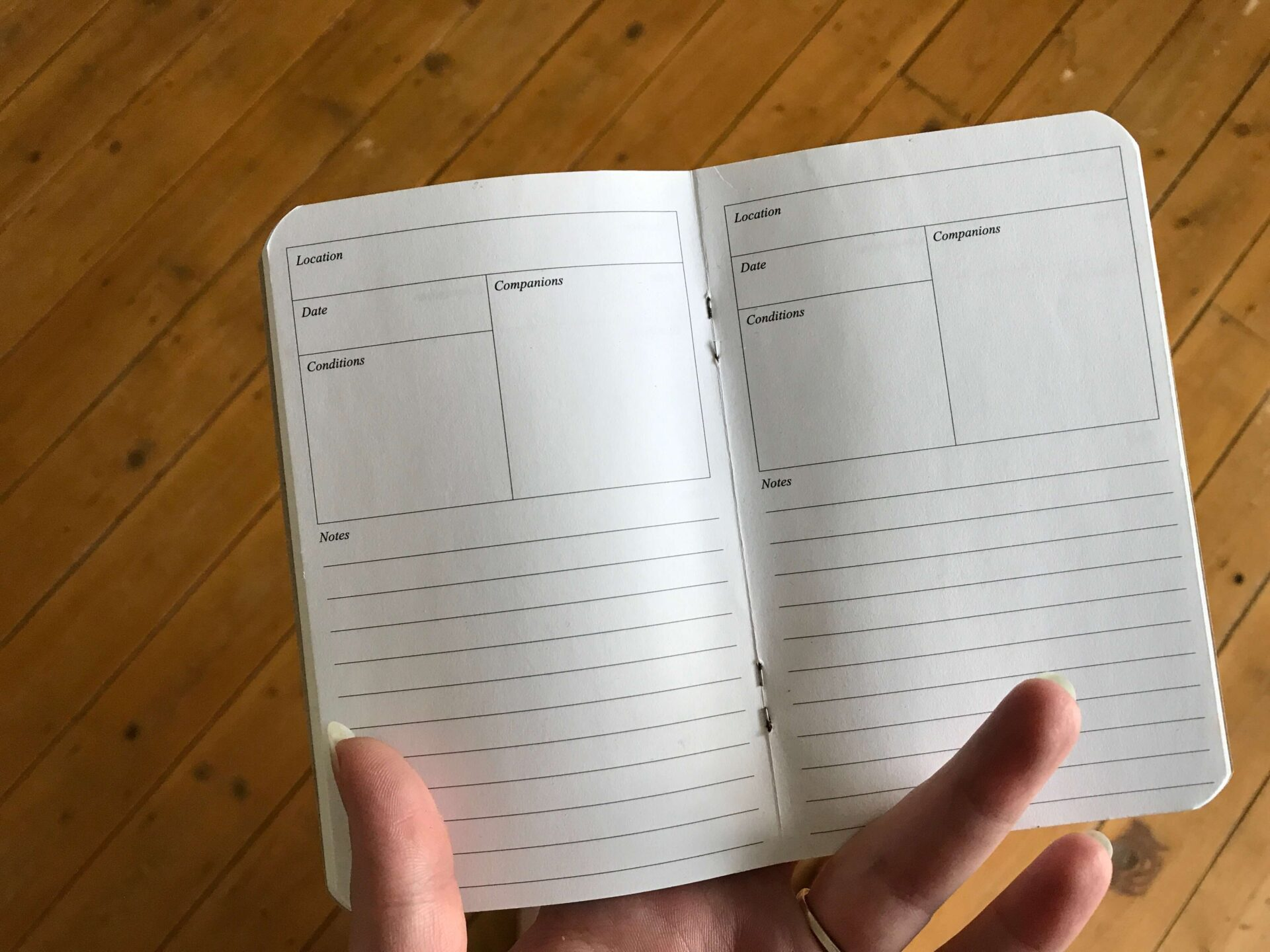 Kieszonkowe notatniki to nie tylko nudne wnętrza