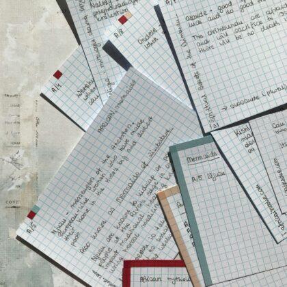 Zdjęcie okładkowe wpisu: Zettelkasten z bliska — o katalogowanych notatkach