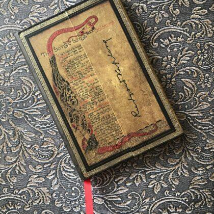 Zdjęcie okładkowe wpisu: Recenzja: Paperblanks (mini) — notatnik do postawienia wśród książek