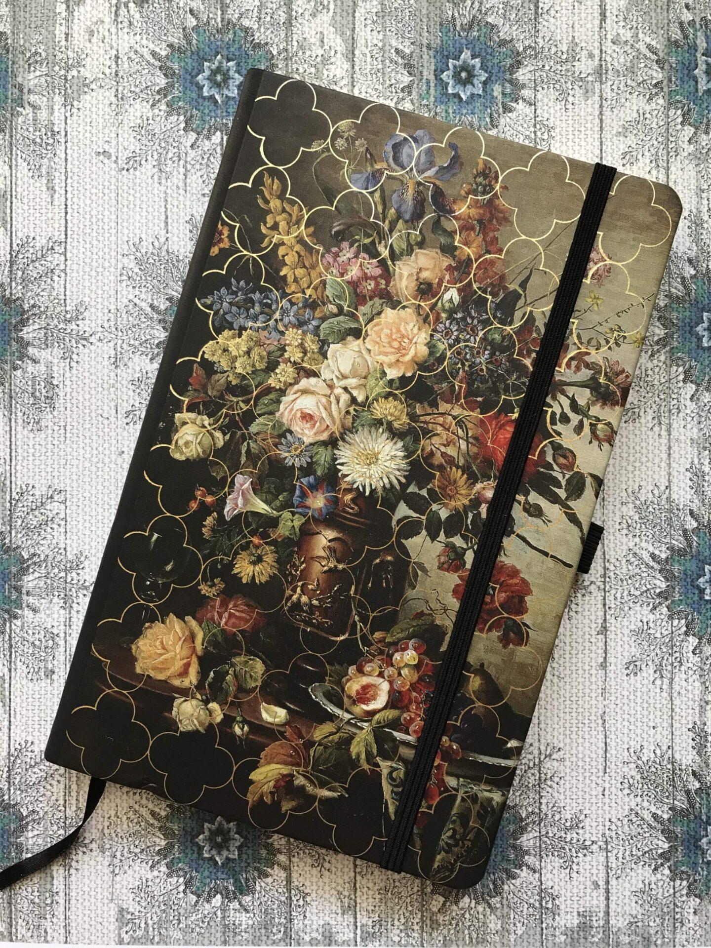 Notatnik Castelli z serii Vintage Floral