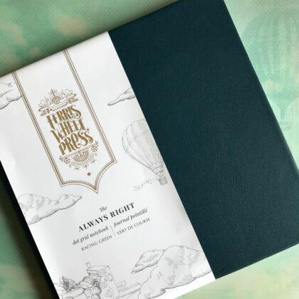 Zdjęcie okładkowe wpisu: Recenzja: Ferris Wheel Press — notatnik Always Right